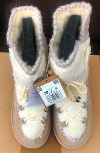 GIOSEPPO Women's 46486 Slouch Boots, Beige 5.5 UK, EU 39