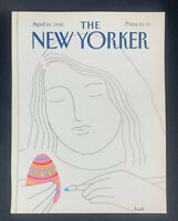 COVER ONLY ~ The New Yorker Magazine, April 16, 1990 ~ Heidi Goennel