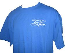 Destiny's Child Beyoncé 2005 Tour Concert Local Crew T-shirt X-Large Blue New