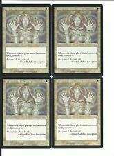 MTG: PRESENCE OF THE MASTER Urza's Saga UNCOMMON; played, Excellent condition x4