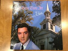 Elvis Presley - How Great Thou Art ( NM Condition ) RCA Stereo LSP3758