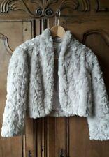 Monsoon faux fur bolero - size 10