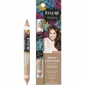 Eylure Thalia Champagne And Rose Shimmer 2 in 1 Brow Color and Highlighter