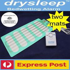 DrySleep Bedwetting Mattress Alarm NON-INVASIVE Bed Wetting Enuresis Alarm 2 MAT