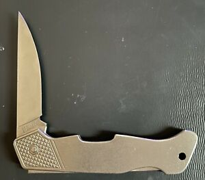 Vintage Boker Hoffritz Germany Titanium Knife Rare