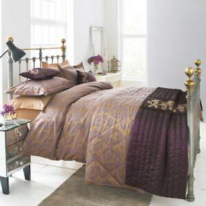 Victoria & Albert V&A ANEMONE Single Duvet Cover 190gsm Jacquard Quilt RRP £60