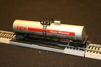 1D HO SCALE TRAIN EXXON HAPPY MOTORING TANKER TANK CAR HORN HOOKS