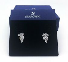 Swarovski Crystal Louison Stud Pierced Earrings White Rhodium Plating 5446025