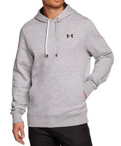 NEW UNDER ARMOUR STORM TRANSIT MENS GREY WATER RESISTANT HOODIE L / XL