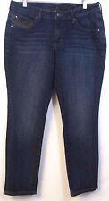 Jag Jeans Size 14 P SKINNY Dark Blue Stretch Denim Inseam 28.5