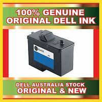 New Genuine Original Dell Black Ink Cartridge For  Dell A940 A960 Printers 7Y743