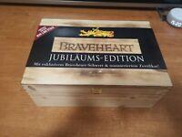 Braveheart wooden box legno Con Spada in metallo edizione numerata limited