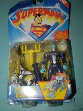 Kenner Superman Evil Alien Brainiac With Blasting Sled Figure