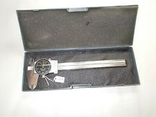 Brown Amp Sharpe No 599 579 5 Machinists Shockproof Dial Caliper Swiss Made