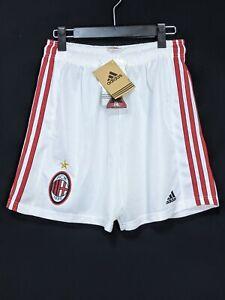 1998-2000 AC Milan Football Shorts Soccer M adidas *BNWT*