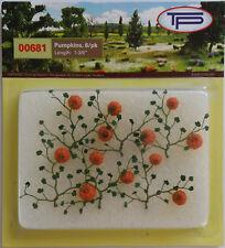 Tasma Products - Pumpkin Plants With Pumpkins for 00/HO Model Railway