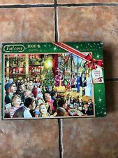 Christmas Pantomime by Jim Mithcell ~ 1000 Piece Falcon Jigsaw Puzzle