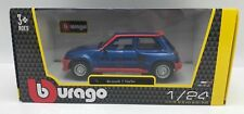 Renault 5 turbo 1982 metalizado azul - 1:24 Bburago >> New <<