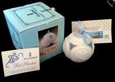 Lladro Christmas Tree Ball Ornament No. 1.603 1988 Mib