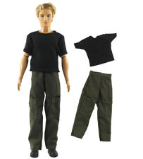 2 Pcs Set Dll Clothes/Outfit Top+pants For 12 inch Ken Doll Clothes B58