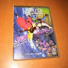 LAPUTA : CASTLE IN THE SKY - STUDIO GHIBLI JAPAN ANIME ( 1-DISC DVD , REGION 4 )