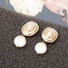 1 Pair Women Shell and pearl Earrings Stud Drop Dangle Party Jewelry Earring