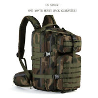 Military Tactical Backpack Army Molle Bug out Bag Hydration Pack Small Rucksack