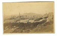 Edinburgh, Scotland - Vintage Carte-de-visite Photograph - Late 19th Century