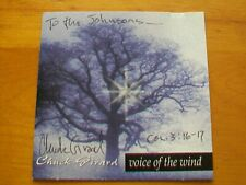 Voice of the Wind by Chuck Girard (CD, 1996, Newport Records)