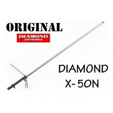 DIAMOND X-50N - ANTENNA BIBANDA VHF UHF DA BASE CON ATTACCO N