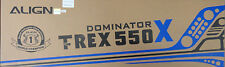 Align Trex 550 X Dominator 550 Sized Electric Helicopter