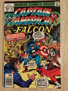 Captain America #217, Marvel, 1st Appearance Quasar, Super-Agents of Shield