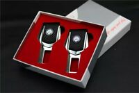 2x Seat Belt Control Buckle Clasp Insert Plug Eliminate Stop Alarm Fit Benz Auto