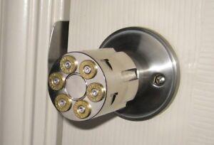 .357 Magnum Cylinder Door Knob, 38 Special