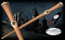 "Mundungus Fletcher Wand 15"" Replica NIB from Harry Potter Movie w/ Name Plate"