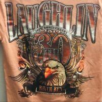 Laughlin River Run Graphic T-shirt Size S 30th Anniversary 2012  Men's Tee