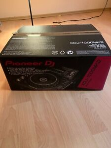 Pioneer DJ XDJ 1000 MK2 Originalkarton