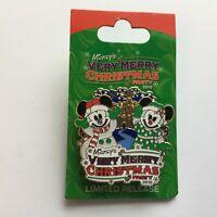 WDW - Mickey's Very Merry Christmas Party 2010 - Logo Disney Pin 80739