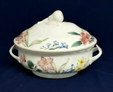 Vintage Villeroy & Boch FLORA BELLA Oval Soup TUREEN with LID 84 oz LUXEMBOURG