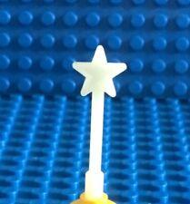 LEGO Very Rare Glow in the Dark Minifig Magic Wand Fairy Wizard