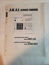 AKAI MPC 60 EXM 003 Service Manual