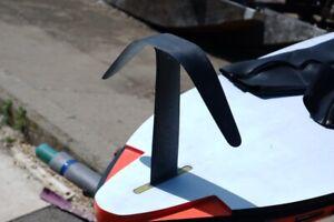 Windsurfing hydrofoil fin, windfoil, minifoil 100% Carbon. Power Box