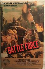 Battle Force (Betamax, 1978) AKA The Biggest Battle  -WWII -  Henry Fonda RARE