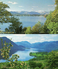 Cumbria ,Lake district  x2 ullswater and windermere unposted 1960/70's