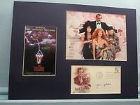 """Jack Nicholson in """"The Witches of Eastwick"""" signed by the author John Updike"""