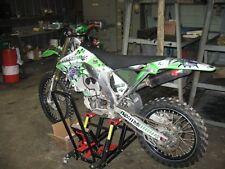 AMR RACING MOTOCROSS NUMBER PLATE GRAPHIC DECAL KIT KAWASAKI KLX 110 10-12 TGW