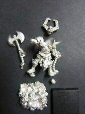 Warhammer Fantasy Chaos Champion of Khorne metal miniature [Lot 2]