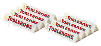 8 x TOBLERONE WHITE Chocolate Bar with Honey & Almond Nougat 100g 3.5oz