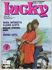 fotoromanzo LUCKY ANNO 1981 NUMERO 157 ANTONIETTA ALIOTTI COFFA GLIGOROV