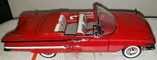 Franklin Mint Brand New 1960 Chevrolet Impala Convertible Red untouched Original